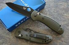 "Benchmade 550BKHGOD Griptilian w/ 154CM Hollow Ground Black Blade ""Made in USA"""