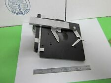 LEITZ STAGE EPOI NEW YORK 960613 MICROSCOPE AS IS BIN#58-29