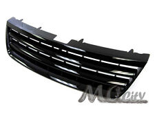 Front Badgeless Replacement Grille Grill for Volkswagen 03-07 Touareg BLACK 04