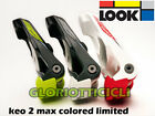 LOOK KEO 2 MAX COPPIA PEDALI COLORED LIMITED EDITION COLORE VERDE/NERO
