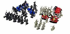 75 Pcs Black & Gray Knights Medieval Play Set