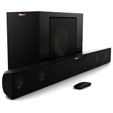 Klipsch R-20B Bluetooth Soundbar with Wireless Subwoofer (Satin Black)