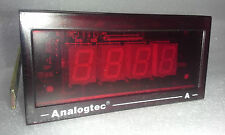 Industrial Grade Digital Panel Meter - Indicate 0 to 150 A/AC - Pwr: 120 VAC