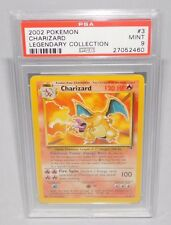 Pokemon - Charizard PSA 9 MINT  Theme Deck Non Holo Version Legendary Collection