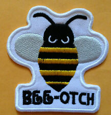 BEE-OTCH  BEE PATCH IRON ON OR SEW ON