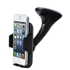 "FM 360° Car Holder Windscreen Mount iPhone 7/6 4.7""/6S/ 6 Plus 5.5""/5/5S/5C/4/4S"