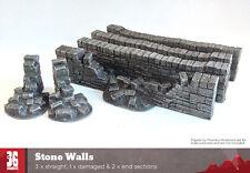 Muri in pietra resina Terrain Pack