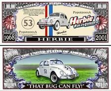 La COCCINELLE BILLET de collection 1 MILLION DOLLARS ! CHOUPETTE Herbie Love Bug