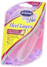 3 Dr Scholls Heel Liner For Her Clear Shoe Insoles Women Silicone Gel Liners