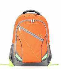 Bipra 15.6 inch Laptop Bag Backpack Suitable For 15.6 Inch Laptops (Orange)