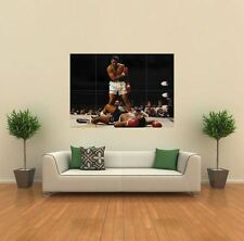 MUHAMMAD ALI VS SONNY LISTON NEW GIANT ART PRINT POSTER PICTURE WALL G379