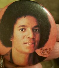 Michael Jackson early- RARE W/AFRO  Buttons ~Pins~ Thriller
