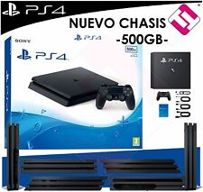 VIDEOCONSOLA PS4 PLAYSTATION 4 500GB SLIM OFERTA SONY ESPAÑA PENINSULAR NUEVA