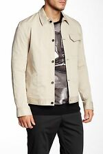 MENS  Helmut Lang Patch Pocket Jacket COAT Sand Beige X LARGE  NWT $425