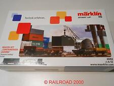 Märklin 44452 Start up Wagenset Containerverladung,  NEU