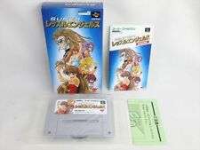 Wrestle Angels MINT Condition Ref/aba Super Famicom Nintendo JAPAN Game sf