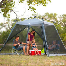 Ozark Trail 10' x 10' Instant Screened Canopy Tent Patio Outdoor Camping Shelter