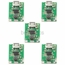 5pcs Setp-up Boost 5V Li-ion Battery Power Micro USB Charge Protection Module