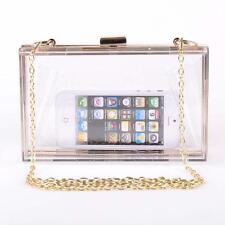 Women Clutch Purses Evening Small Bag Box Handbag Shining Lady Business Bag Gift