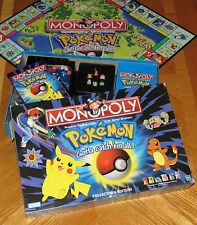 POKEMON Monopoly Collector's Edition vtg 1999 Hasbro Made in USA Complete & Nice