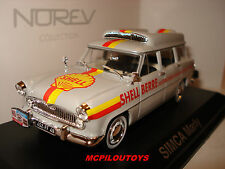 NOREV SIMCA MARLY BREAK SHELL BERRE RAVITAILLEMENT TOUR DE FRANCE 1960 au 1/43°