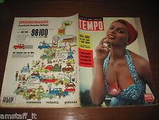 RIVISTA TEMPO 1956/31=SOFIA LOREN=ROCKY MARCIANO=ESTHER MASING=GIGLIO DEL NILO=