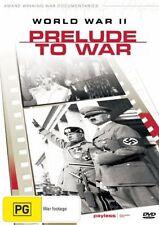 World War II Series - Prelude To War (2002) Ex Rental DVD Region 4 No Case