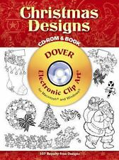 Christmas Designs CD-ROM and Book Dover Electronic Clip Art)