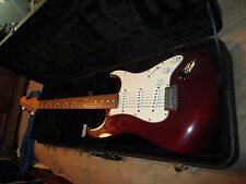 2010 Fender MIM Standard Stratocaster • Red w/ Case • Original • Great Condition
