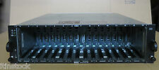 DELL Powervault md1000 SAS SATA 15-bay Drive STORAGE ARRAY San Controller 2 X