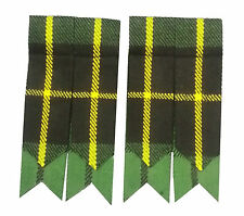 Scottish kilt Flashes Hunting Wallace Tartan/Hunting Wallace Tartan Kilt Flashes