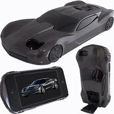 3D Graphite Black AMERICAN MUSCLE Car Case for Boost Apple iPhone 5 5S Cover