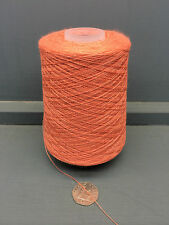 200G PEACHY PINK 2/32NM 57% LAMBSWOOL 43% COTTON YARN 62030
