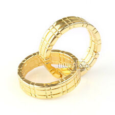 New Design Elegant Gold Magic Trick Himber Ring Close Up Linking Finger Ring ZD