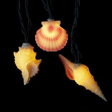 NEW Seashell String of Lights Conch Shell and Pink Seashell electric UL1164