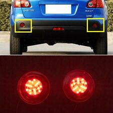 Red LED Rear Bumper Reflector fog Light Lamp For NISSAN QASHQAI 2007 2008 2009