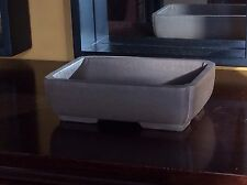 Quality Unglazed Zisha Rectangular Bonsai Pot