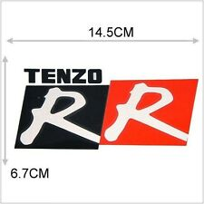 CAR MOTORCYCLE DECORATION STICKER TENZO DOUBLE R STICKER