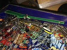 Green Clear Plastic for Tales From The Crypt Pinball - with fluorescent edge