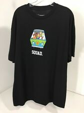 ONEDEGREE MEN'S SCOOBY DOO SQUAD SHORT SLEEVE T SHIRT XL BLK NWOT