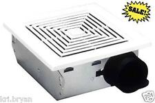 NEW BROAN BATHROOM CEILING WALL MOUNT VENTILATION FAN AIR VENT EXHAUST 2 DAY