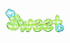 Sweet Iron on Embroidered Sew Patch Badge Patches Crafts Lots of designs  #136