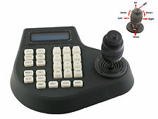 4-Axis 4D PTZ Joystick Keyboard Controller RS485 For CCTV PTZ Camera LCD Display