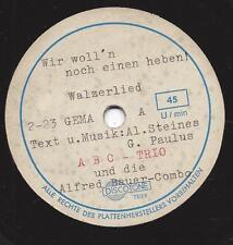 Privataufnahme ? Alfred Bauer Combo und das ABC Trio : An der Mosel