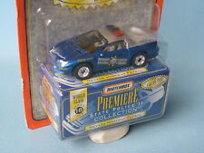 Matchbox USA Premiere Police Nevada Highway Patrol Camaro Z28 Toy Model Car
