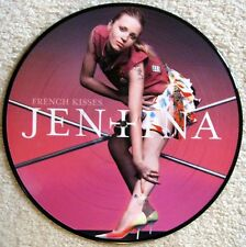"Jentina - French Kisses -12"" Picture Disc - UK - 2004 - NEW"