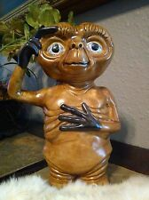 VINTAGE E.T. EXTRA TERRESTRIAL CERAMIC COIN BANK PIGGY BANK COLLECTIBLE ITEM