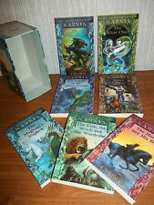THE CHRONICLES OF NARNIA BOXSET ( x 7 PB BOOKS) - KIDS BUNDLE - C.S. LEWIS - VGC
