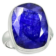 Indian Sapphire 925 Sterling Silver Ring Jewelry s.6.5 SAPR1045