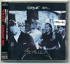Metallica - Garage Inc. 2xCD 1998 JAPAN PRESS + OBI SRCS 8809~10 Heavy Metal
